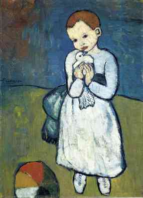 child-with-dove-1901 Picasso