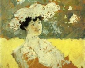 Edouard Vuillard woman-with-a-hat-1901