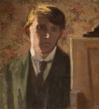 Gore, Spencer; Portrait of the Artist; Birmingham Museums Trust; http://www.artuk.org/artworks/portrait-of-the-artist-33964
