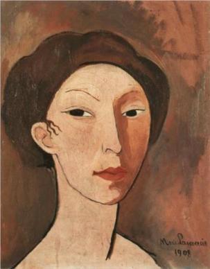 marie-laurencin-self-portrait-1908