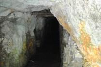 L'ingresso alla miniera