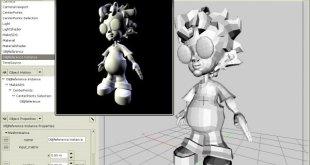 تحميل برنامج K-3D افضل برنامج لصناعة الرسوم ثلاثية الابعاد