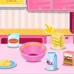 العاب بنات طبخ لعبة تحضير كعكة