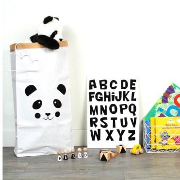 www.bon-tot.com Panda Storage Bag