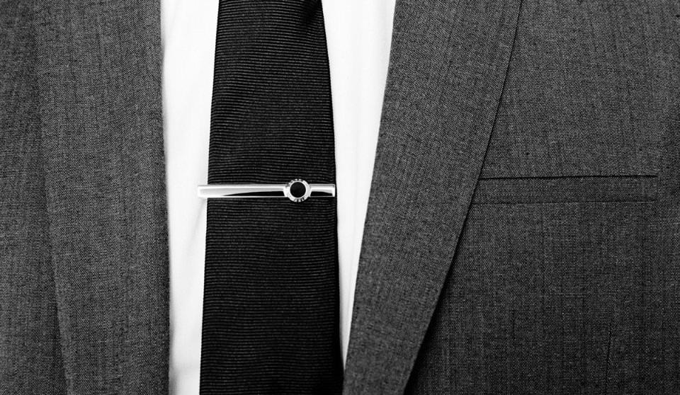 Классический зажим для галстука