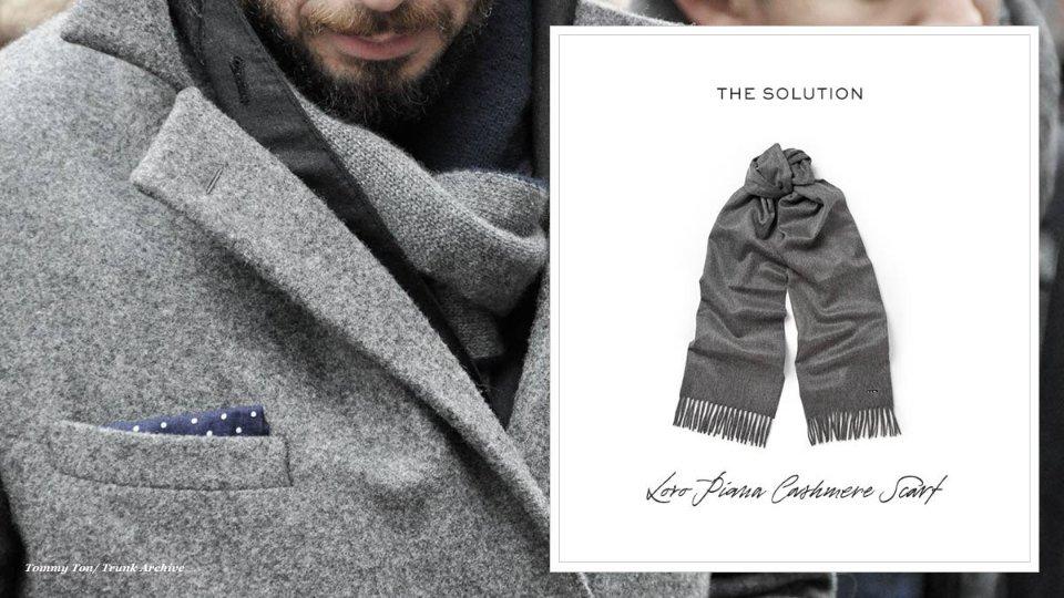 Как выбрать шарф на зиму мужчине