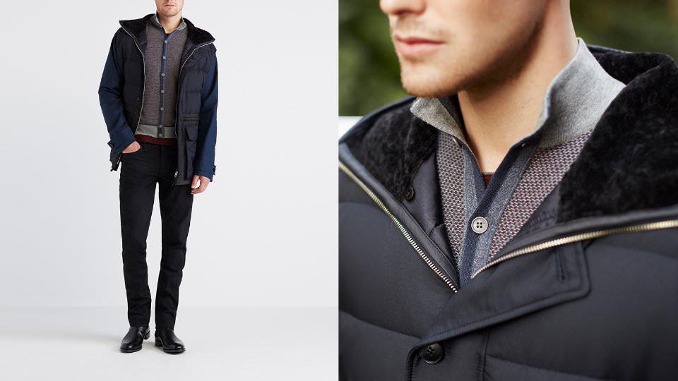 Как нужно одеваться зимой мужчине?