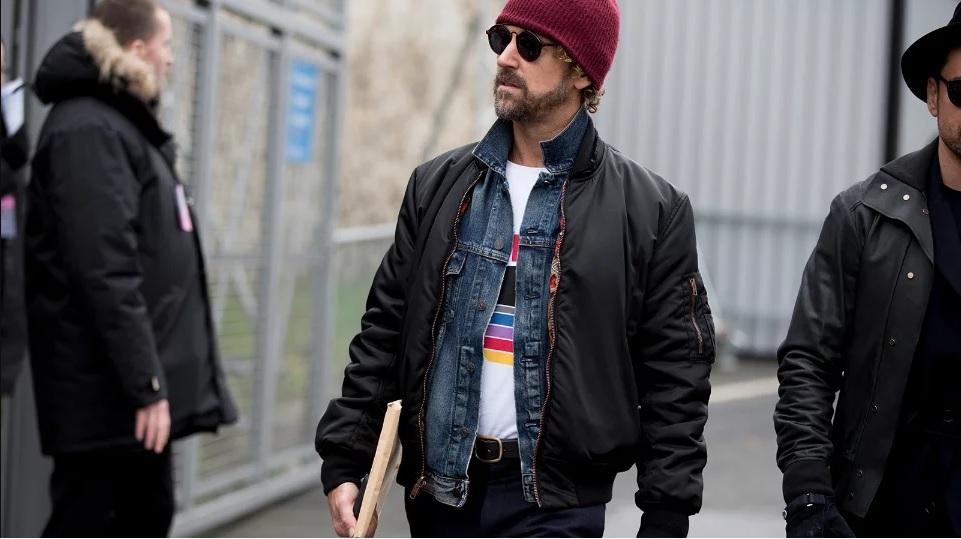 как носить куртку мужчине