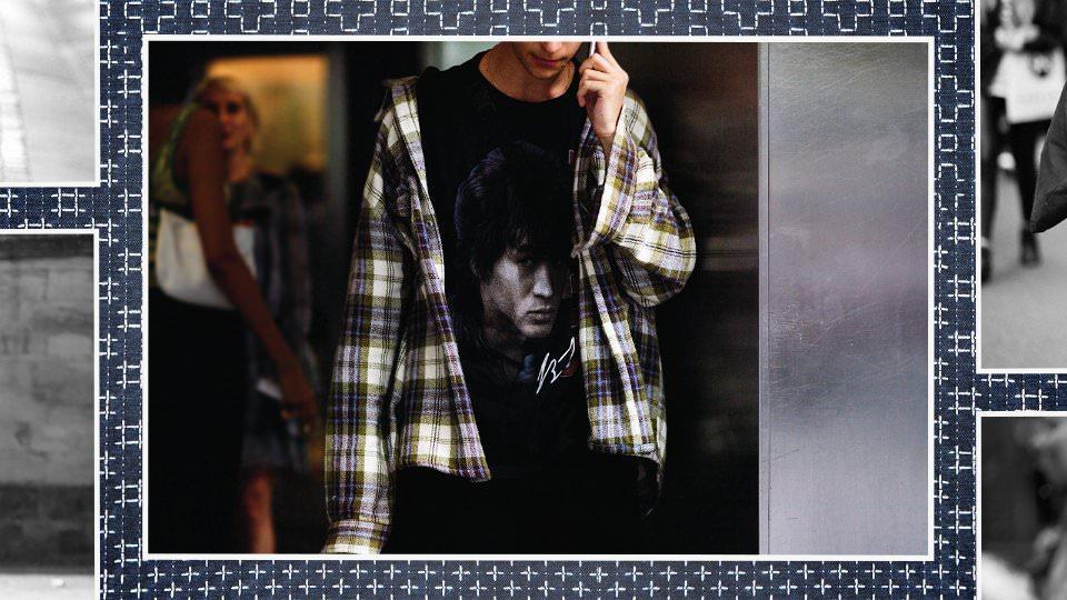 мужская одежда в японском стиле