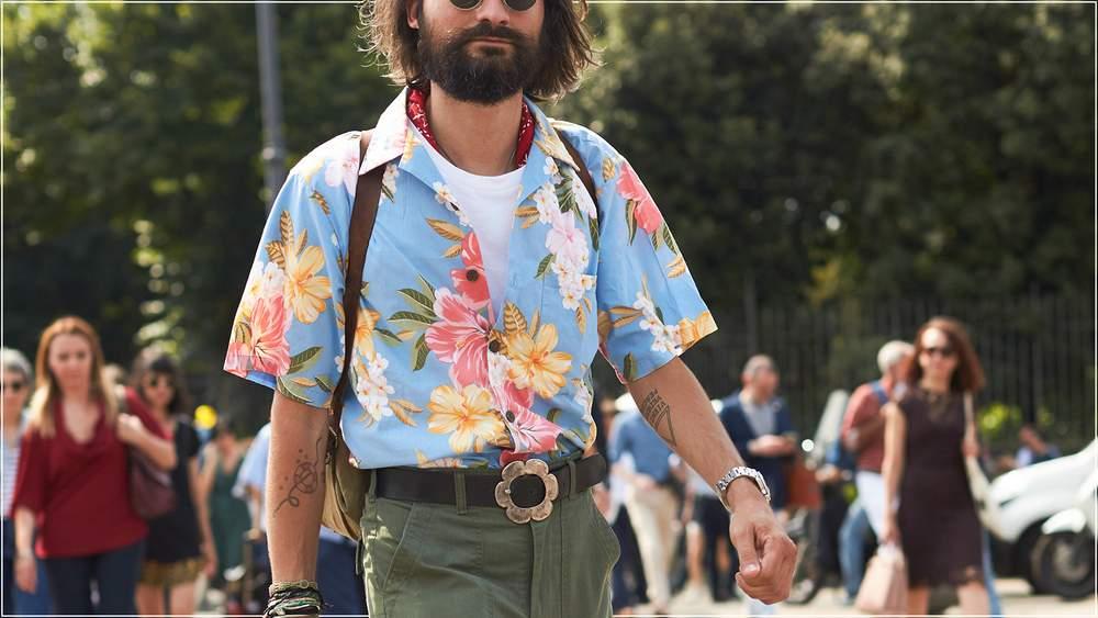 гавайская рубашка мужская