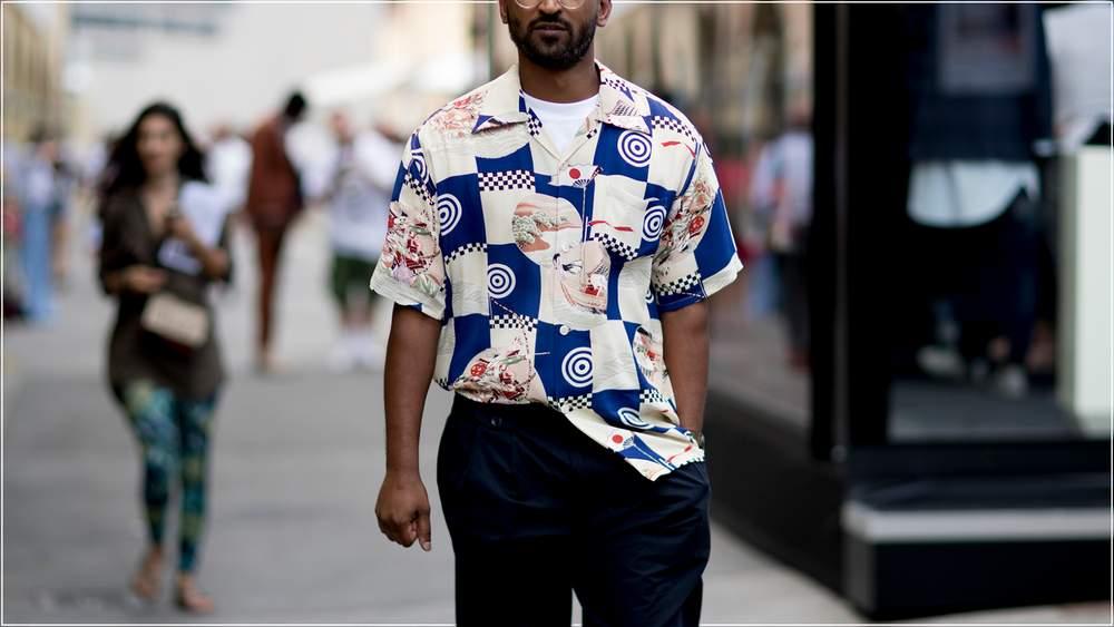 гавайская рубашка с чем носить