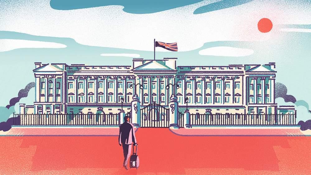 Дворецкий в Букингемском дворце