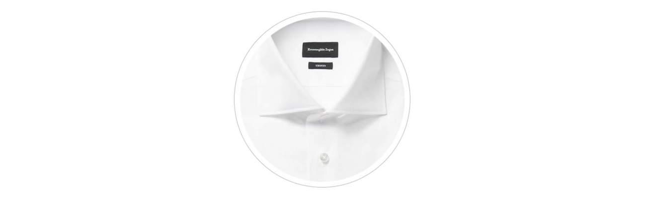 отрезной воротник мужской рубашки