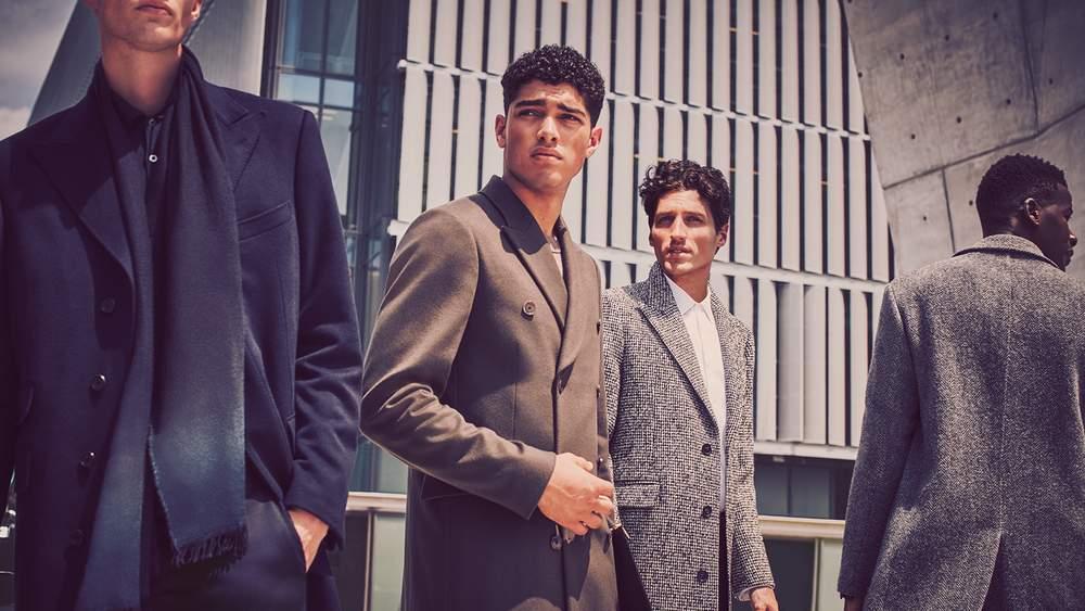 Осенние мужские куртки и пальто