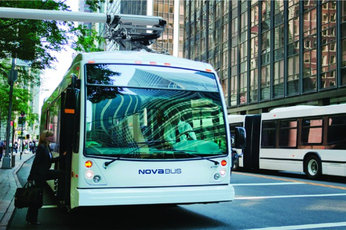 Nova Bus Battery Electric Model