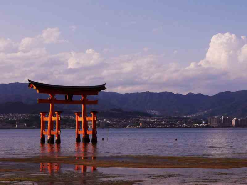 The Floating Torii
