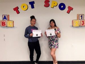 From our Early Education Morning Program Brittany Paul and Brenda Martinez have received their CDA.