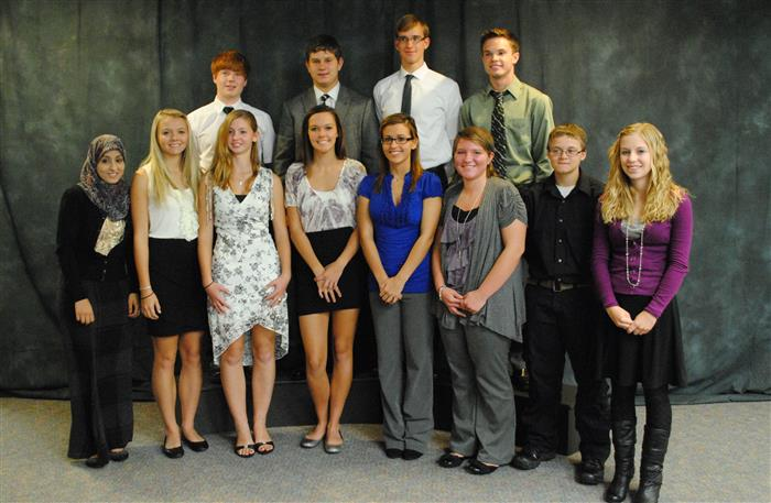 NTHS 2012 Inductees