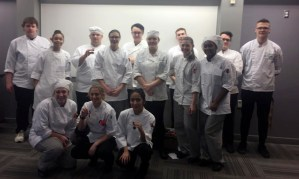 Students at Culinary Skills USA Regionals 2018