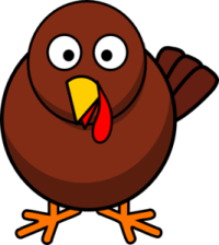 Funny Brown Turkey