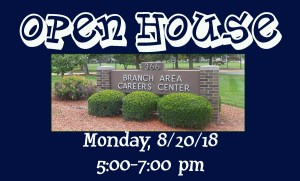 BACC Open House for 2018-2019 @ Branch Area Careers Center | Coldwater | Michigan | United States