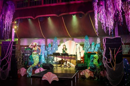 Marimbas and Mermaids at La Bordee d'Branchage: The Codfish Ball in 2014