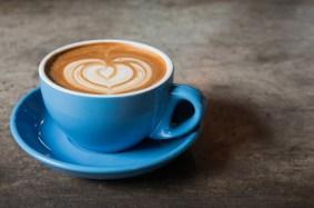 Blue latte