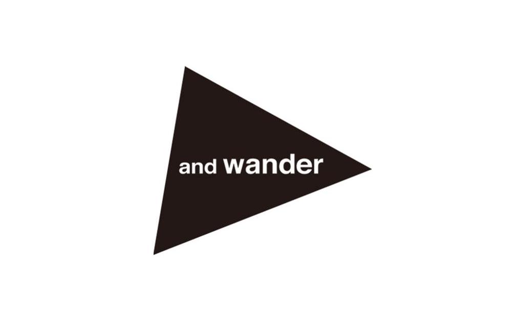 and wander/アンドワンダー
