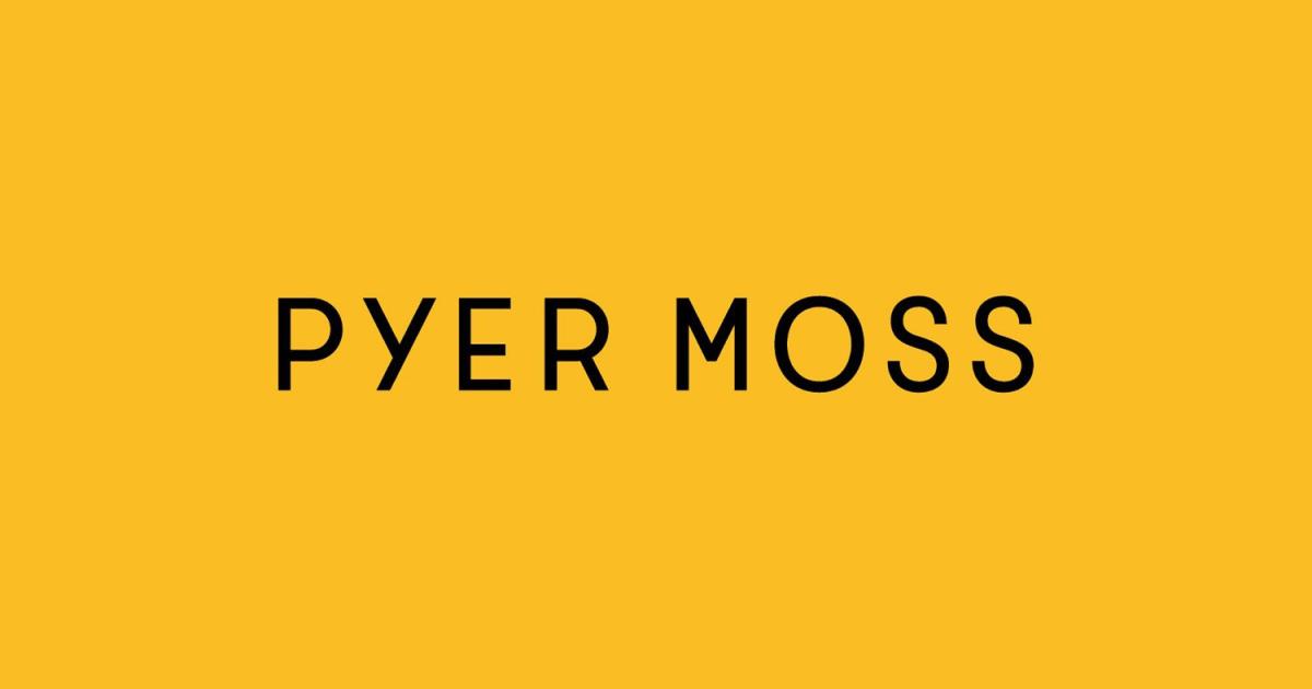 Pyer Moss/パイアー・モス