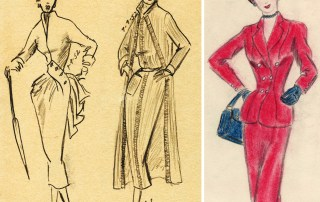 1950s fashion figures