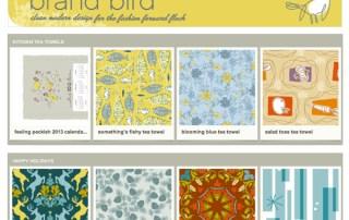 Brand Bird Spoonflower Shop