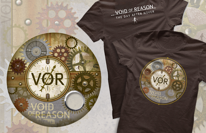Void of Reason Drum Head+T-Shirt Graphics