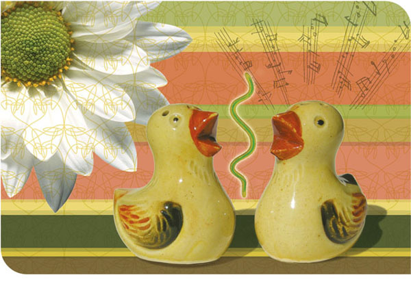 Spring Chicks Sing Happy Easter