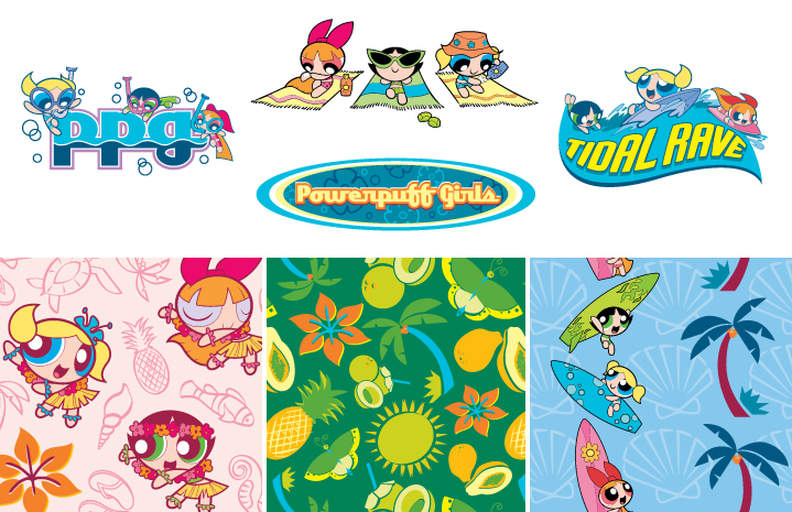 PPG hula heroes style guide