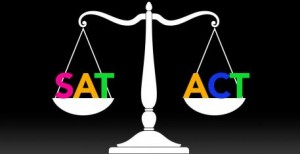 SAT or ACT.