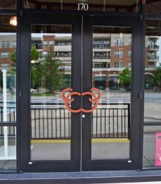 Branded Door Charming Charlies Bilmore Village Town Square