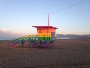 Brand Color Lifeguard Station