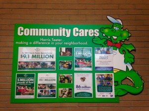 Example of a Company Corporate Social Responsibility Community Board