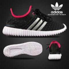 BA0112 Black Pink Adidas Ultra Boost Women - Rp. 200000