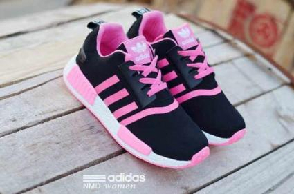 BA0122 Black Pink Adidas NMD Runner Women - Rp. 210000