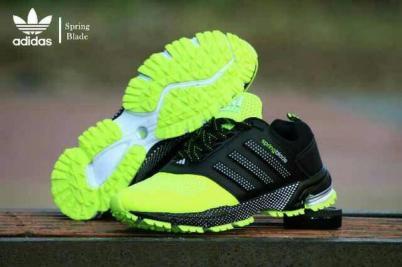 BA0124 Black Yellow Adidas Spring Blade Marathon - Rp. 260000