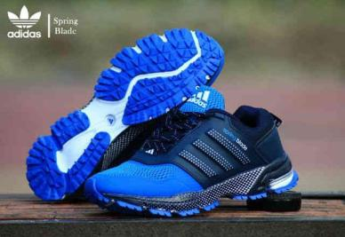 BA0125 Black Blue Adidas Spring Blade Marathon - Rp. 260000