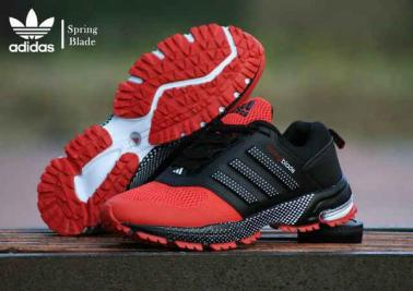 BA0126 Black Red Adidas Spring Blade Marathon - Rp. 260000