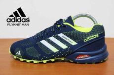 BA0151 Blue Adidas Flyknit Men - Rp. 260000