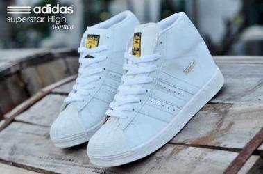 BA0177 Adidas Superstar High Women 2 - Rp. 210000