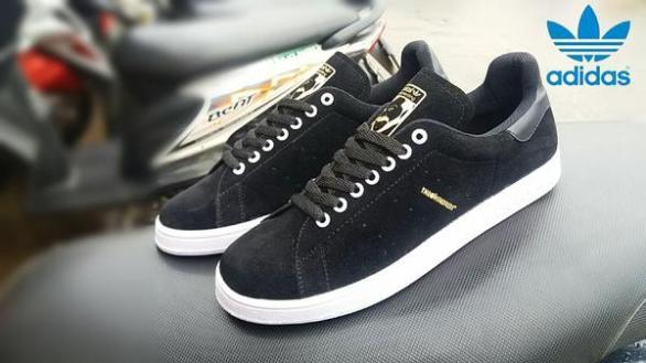 BA0383 Black Adidas The Hundreds Suede - Rp. 200000