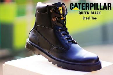 BC0219 Black Caterpillar Queen Boot - Rp. 220000