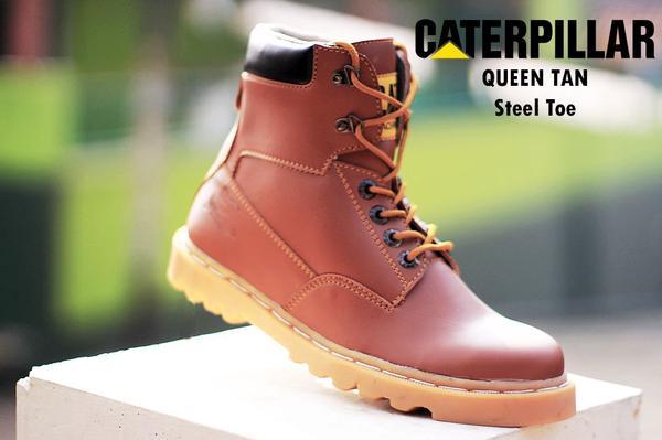 BC0221 Tan Caterpillar Queen Boot - Rp. 220000
