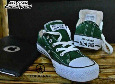BC0259 Green Converse All Star Low - Rp. 135000