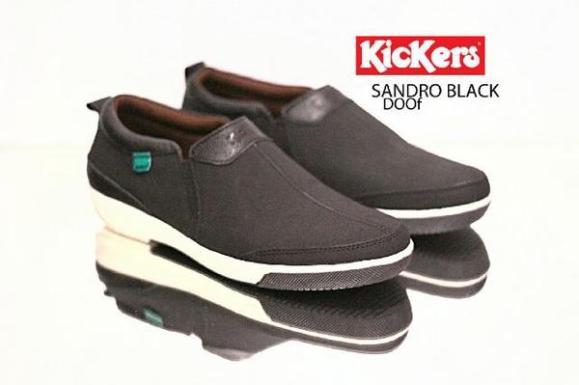 BK0004 Kickers Sandro Black - Rp. 190000